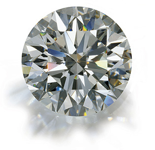 z alphabet in diamond  Round Brilliant: Excellent or