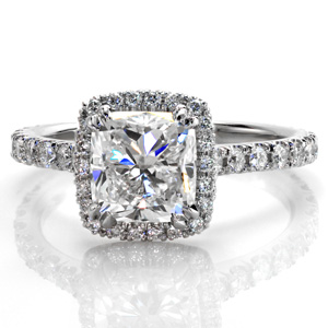 The great gatsby engagement ring from Knox Jewelers.