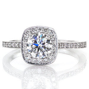 Knox Amante Ring Design. Ring #2 from Our Top Ten Most Beautiful Ring List