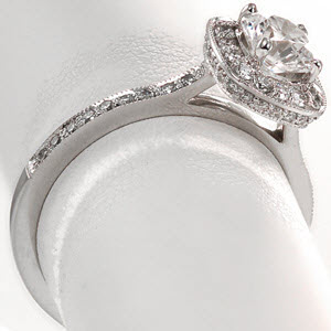Amante design is Ring #2 from Our Top Ten Most Beautiful Ring List
