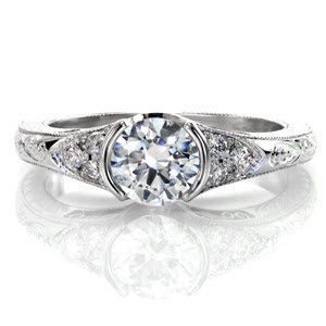 Our Seville design is ring #10 from Our Top Ten Most Beautiful Ring List