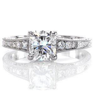 Classic Barcelona number 1 ring from our Top Ten, Most Beautiful Engagement Ring List