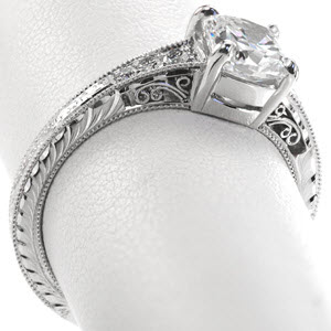 Ring #1 from our list of beautiful engagement rings is our Barcelona design