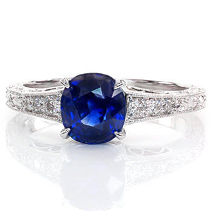 The Number One Ring from Our Top Ten Most Beautiful Ring List is our Barcelona design 