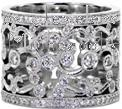 Design 1502 - Diamond Wedding Bands - Heirloom Band