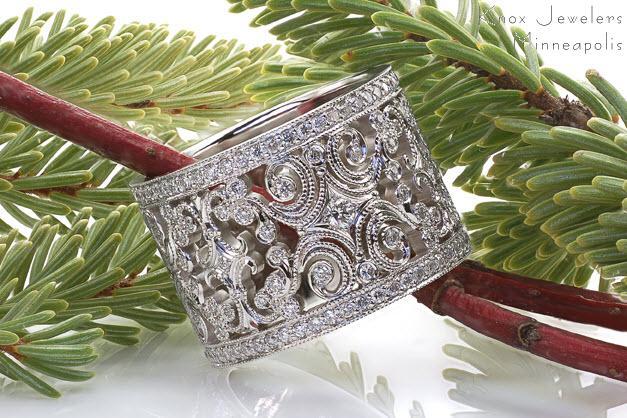 Caledonia Custom Design Rings Knox Jewelers