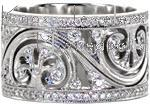 Design 2490 - Diamond Wedding Bands - Knox Signature Ring