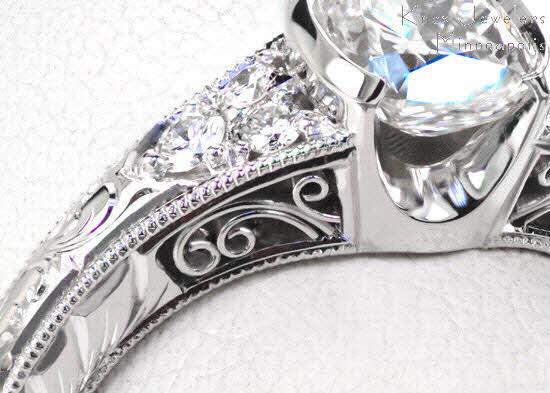 Cushion Seville Knox Jewelers Minneapolis Minnesota
