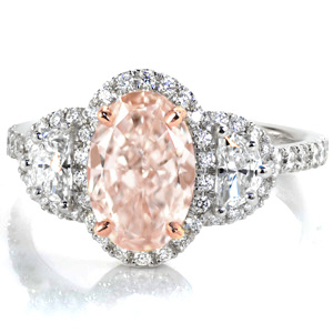 Morganite-Post-Ring1 Unique Engagement Rings
