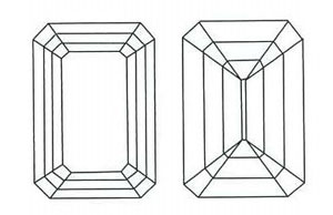 emerald_cut_diamond_sketch Unique Engagement Rings