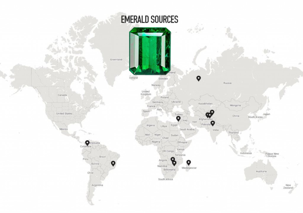 Emerald-Map-1024x720 Unique Engagement Rings