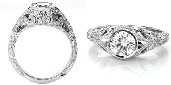 Fitzgerald Unique Engagement Rings