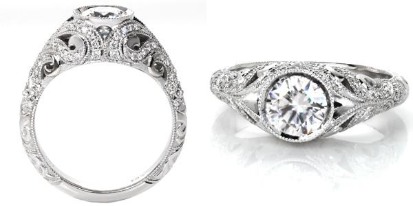 Fitzgerald Unique Engagement Rings
