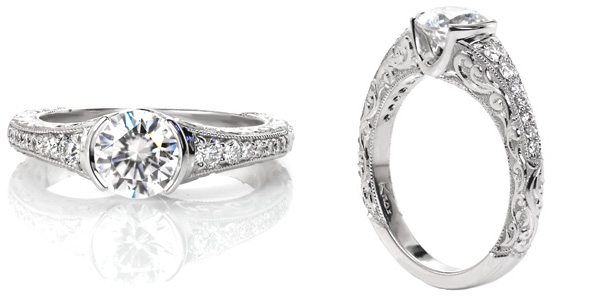 Noveau Unique Engagement Rings