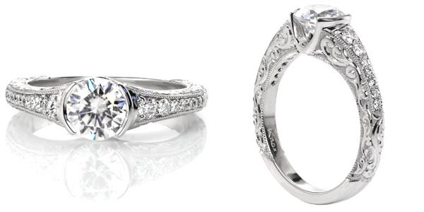 Noveau Unique Engagement Rings