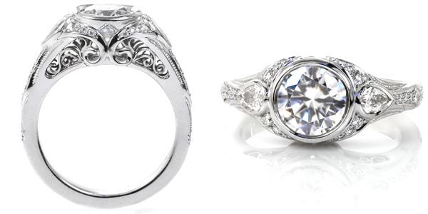 Sylvia Unique Engagement Rings