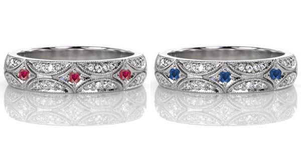 North-Star-Petite Unique Engagement Rings
