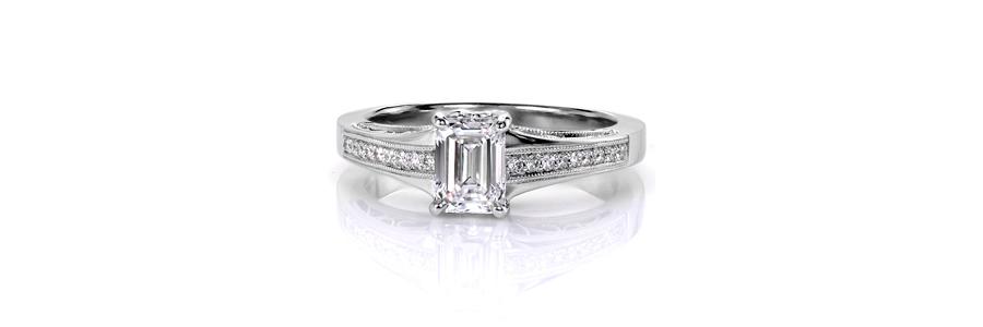 1 Ring Spotlight Unique Engagement Rings