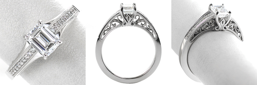 2 Ring Spotlight Unique Engagement Rings