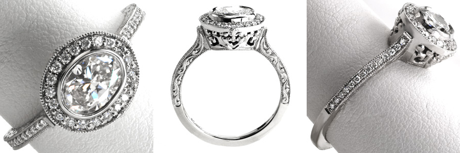 2-1 Unique Engagement Rings