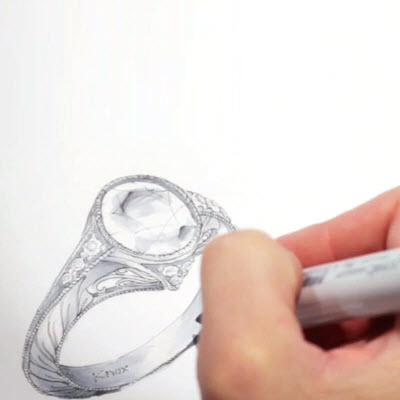 Design your own engagement ring.
