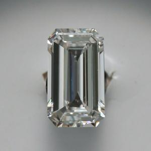 Emerald 0.37 carat H VVS2 Photo