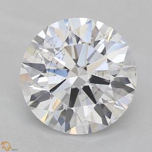 Round 1.61 carat E SI2 Photo