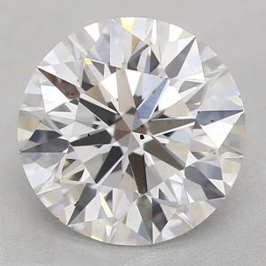 Round 1.65 carat F SI2 Photo