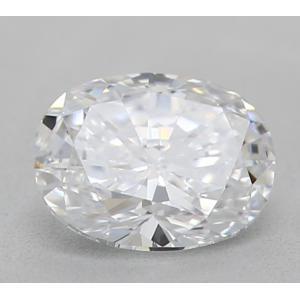 Oval 0.34 carat D VS2 Photo