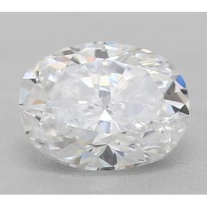 Oval 0.33 carat D VS1 Photo