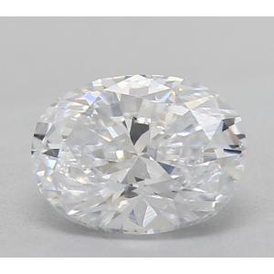 Oval 0.36 carat D VS2 Photo