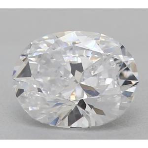 Oval 0.39 carat D SI2 Photo