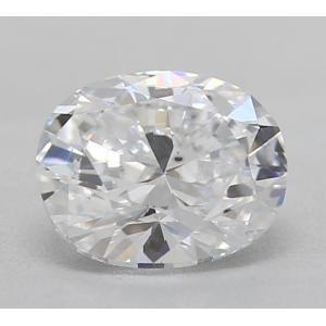 Oval 0.36 carat D SI1 Photo