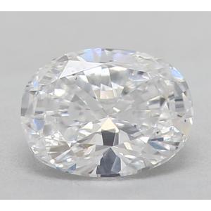 Oval 0.38 carat D SI1 Photo