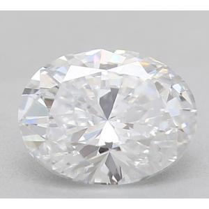 Oval 0.38 carat E SI1 Photo