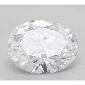 Oval 0.33 carat D VS2 Photo