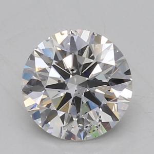 Round 1.58 carat H SI2 Photo