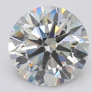 Round 3.01 carat G SI1 Photo
