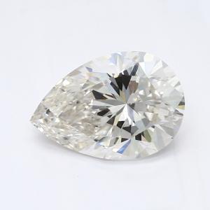 Pear 0.90 carat G VS1 Photo