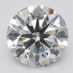 Round 3.01 carat H SI1 Photo