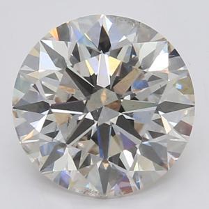 Round 3.03 carat I SI1 Photo