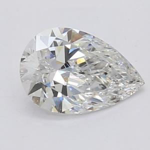 Pear 0.81 carat F VS1 Photo