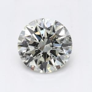 Round 0.90 carat I I1 Photo