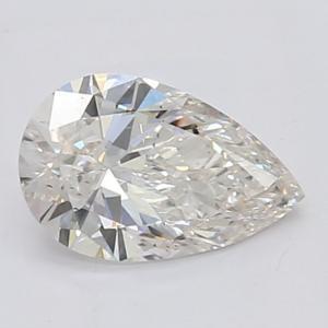 Pear 0.85 carat H SI1 Photo