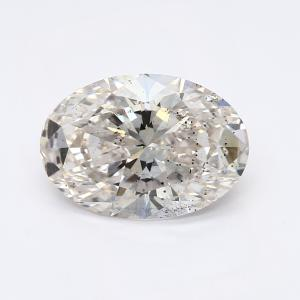 Oval 1.04 carat H SI2 Photo