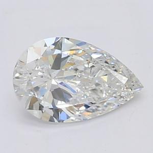 Pear 0.90 carat F SI1 Photo