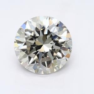Round 3.02 carat I SI1 Photo