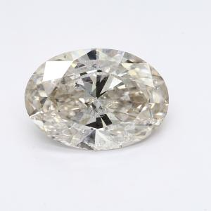 Oval 2.01 carat J I2 Photo