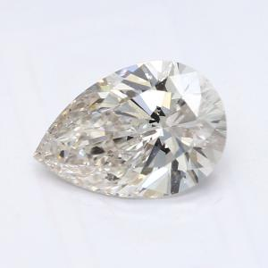 Pear 0.90 carat I VS1 Photo