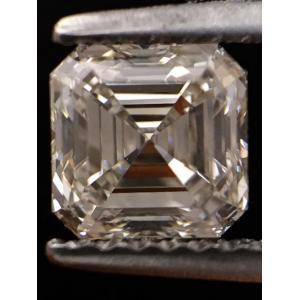 Asscher 1.03 carat K VS1 Photo